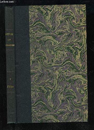 REVUE DE VITICULTURE TOME LX 31EME ANNEE 1924 VOLUME 1 JANVIER A JUIN