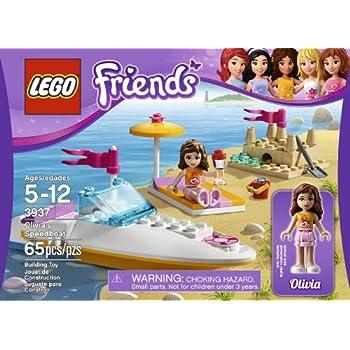 LEGO Friends Olivia's Speedboat Girl 65pc (S) Building Construction Set –  Games (Multicolor
