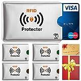 TRAVANDO ® RFID-Schutzhülle Set für Bankkarte