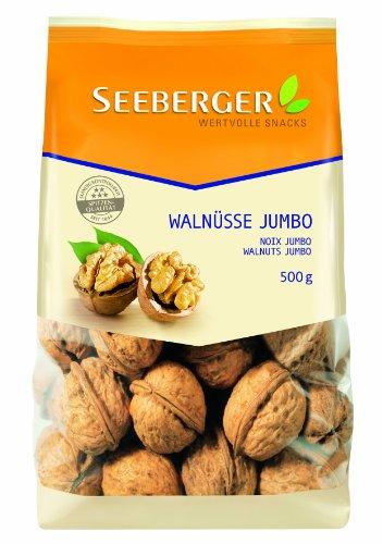 Image of Seeberger Walnüsse Jumbo, 2er Pack (2 x 500 g Packung)