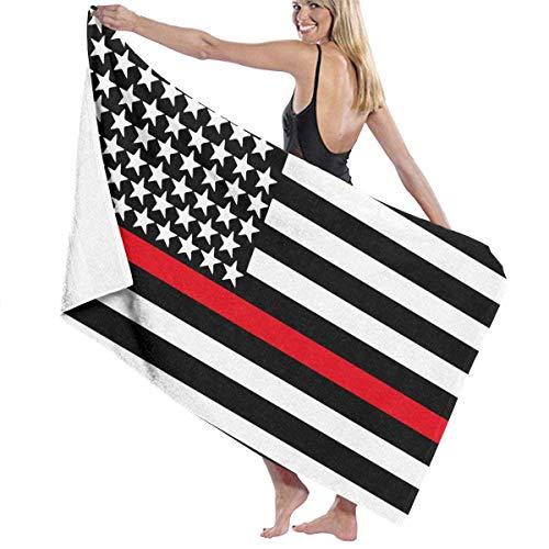 Feuerwehrmann USA Flagge Strand & Badetuch Nautische Baumwolle Mikrofaser Handtücher Strand Bad Schwimmen Pool Handtücher Geschenke 32 '' 52 '' -