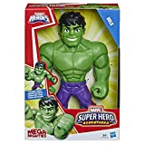 Hasbro Playskool Heroes E4149ES0 Playskool Heroes Marvel Super Hero Adventures Mega Mighties Hulk, 25 cm große Actionfigur