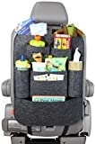 Style Eva Car Auto Vehicle Back Seat Multi Pocket Travel Storage small Organizer  Black/Grey/Red
