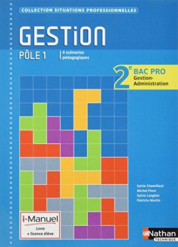 Gestion - Ple 1 - 2e Bac Pro