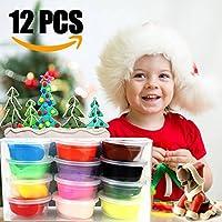 Arcilla de Polimérica, innislink Arcilla de 12 Colores Horno Hornear DIY Arcilla Seguro y No Tóxico y Accesorios Mejores Regalos para los Niños