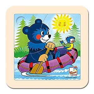 ToyCentre Puzzle, baribal en el bote Bino Europe 13201