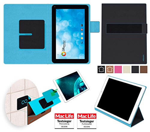 reboon Hülle für Blaupunkt Endeavour 1000 WS Tasche Cover Case Bumper | in Schwarz | Testsieger