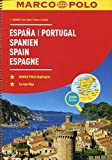 MARCO POLO Reiseatlas Spanien, Portugal 1:300 000: Wegenatlas 1:300 000 (MARCO POLO Reiseatlanten) - Marco Polo Travel Publishing