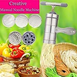 Creative Stainless Steel Manual Pressure Noodle Juicing Machine -