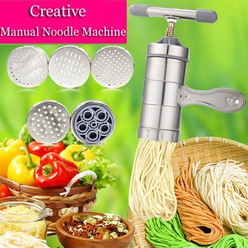 Creative Stainless Steel Manual Pressure Noodle Juicing Machine -