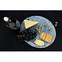 San Valentino regalo, Slate Vassoio Platter intagliato mano ovali cucina a forma di accessori