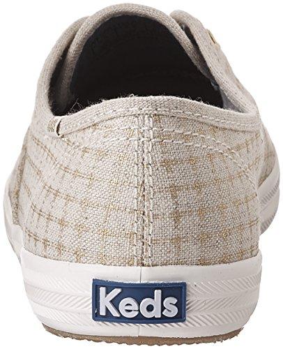 Keds Ch Foil Ticking Dot, Chaussures de Running Femme Ivoire (Natural)