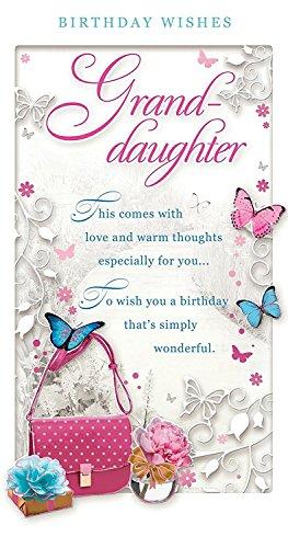 PDF Gratis Granddaughter Birthday Card
