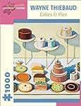 Wayne Thiebaud: Cakes & Pies 1,000-pi...