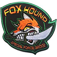 Foxhound – Grupo de Fuerzas Especiales Crazy Fox bordado Airsoft Paintball parche