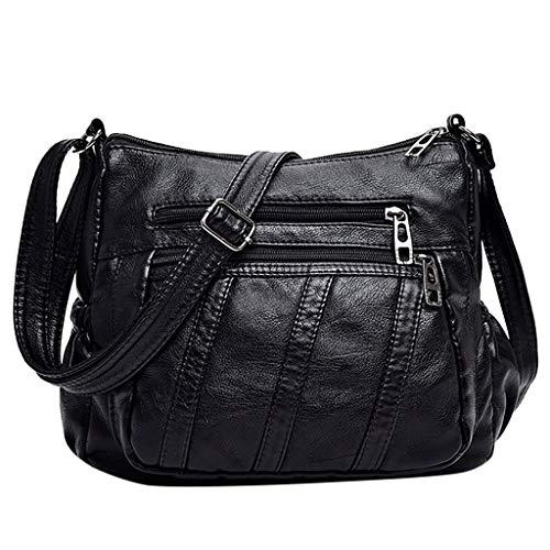 Mitlfuny handbemalte Ledertasche, Schultertasche, Geschenk, Handgefertigte Tasche,Damenmode Umhängetasche Schwarz Umhängetasche Schultertasche Lässig Wild