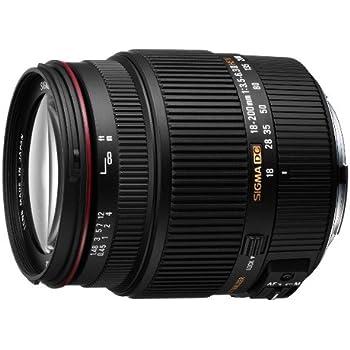 Sigma 18-200 mm F3,5-6,3 II DC HSM-Objektiv (62 mm Filterdurchmesser) für Sony Objektivbajonett