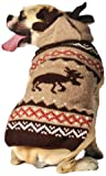 Chilly Dog Moosey Hoodie Sweater, Large