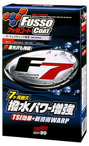 SOFT99 339 Fusso Coat F7 Wachs, 300 ml, Schwarz und Dunkel