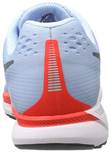 Nike Wmns Air Zoom Pegasus 34, Scarpe Running Donna Blu (Bleu Glacé/cramoisi Brillant/blanc/renard Bleu)