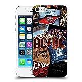 Ufficiale AC/DC ACDC Arte Album Collage Cover Retro Rigida per Apple iPhone 5 / 5s / SE
