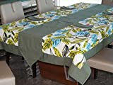 Lushomes Forest Printed 8 Seater Table L...
