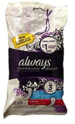 Always Discreet Incontinence Bladder Protection Pads Travel Pack 3 Count