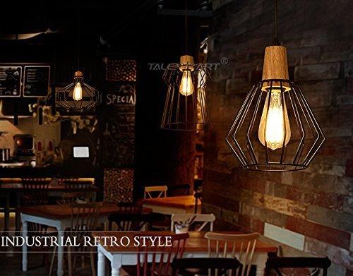 Plafoniere Soffitto Industriali : Glighone lampada a sospensione da soffitto modello vintage