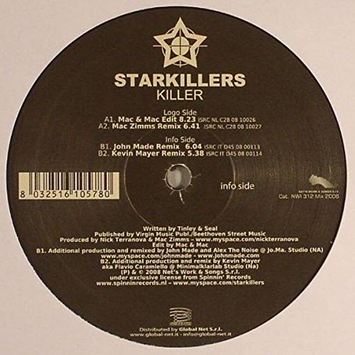 Starkillers - Killer - Net's Work International - NWI 312 Mix 2008 (Killer Net)