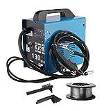 Sweepid Fülldraht-Schweißgerät MIG-130 Lüfterkühldraht 220V 50-120A Hochleistungs Schutzgas Schweißgerät Tragbare Schweissmaschine