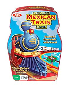 [UK-Import]Mexican Train Game in Tin