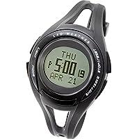 LAD WEATHER Reloj Corriendo Hombre Promedio mínimo Velocidad caloría Cronógrafo Cuentakilómetros Cuentavueltas Retroiluminación Alarma Calendario