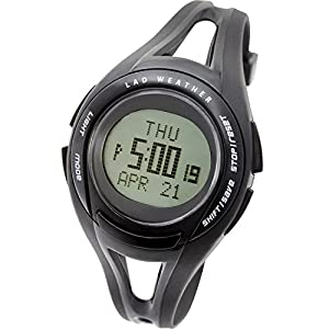 [LAD WEATHER] Running watch average/minimum/target speed/distance/100 laps/ calorie/ Chronograph Luminous Stopwatch Alarm Wrist watch