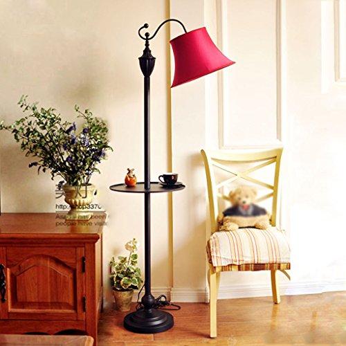 8-fach-lagerung (FL- Moderne Amerikanische Land Pastoralen Stehleuchte Mediterrane Innovative Nachttischlampe Couchtisch Vertikale Licht Mit Fach Lagerung Plissee Orgel Lampenschirm (Farbe : #8))