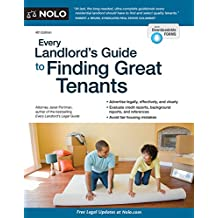 Every Landlord's Guide to Finding Great Tenants (English Edition)