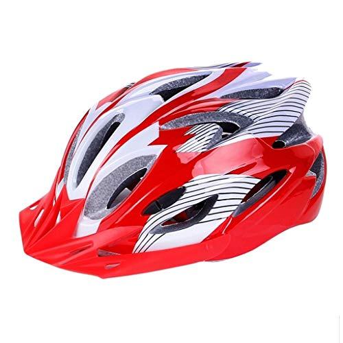 XSWZAQ Fahrrad Mountainbike Helm tot fliegen professionelle Rollschuh integrierte Jugend Erwachsene Ausrüstung Kinder Jungen Moulding (Color : Blue) Blue Fox Bluetooth