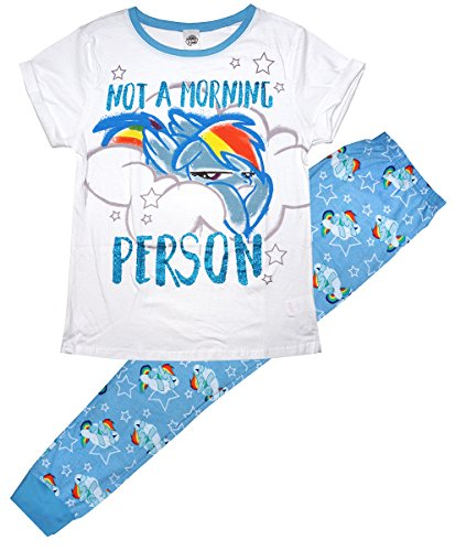 MLP Womens My Little Pony Morning Person Gift Pyjamas Plus Sizes From 8 To 22