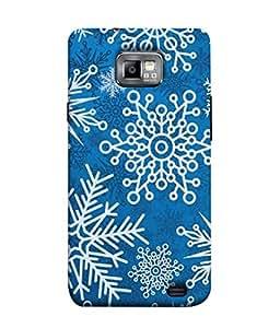 99Sublimation Designer Back Case Cover For Samsung Galaxy S2 I9100 :: Samsung I9100 Galaxy S Ii Blue Waves Pattern Design