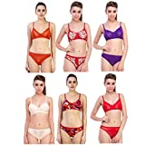 #6: New Care cotton mix Wome Lingeries set pack of 6 in Multicolor