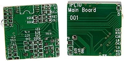 Verde Gemelos de diseño de circuitos de ordenador circuito