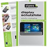 dipos I 2X Schutzfolie matt passend für TrekStor Surftab wintron 7.0 Folie Bildschirmschutzfolie