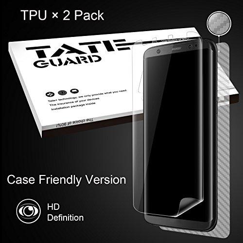 TATE GUARD Samsung S8 Plus (S8+) New Version TPU Screen Protector