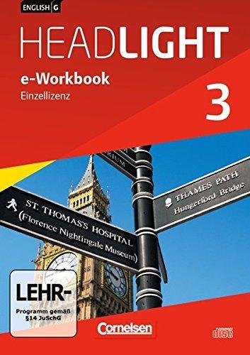 English G Headlight 03: 7. Schuljahr. e-Workbook auf CD-ROM