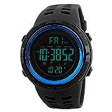 Skmei Herren 's Digital Uhren Japanisches Quarz-Uhrwerk 50m Wasserdicht Rubber Strap Kleid Armbanduhr Sport Handgelenk Uhren