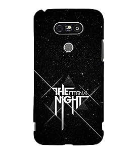 FUSON The Eternal Night 3D Hard Polycarbonate Designer Back Case Cover for LG G5 :: LG G5 Dual H860N :: LG G5 Speed H858 H850 VS987 H820 LS992 H830 US992