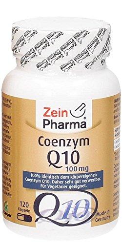 Zein Pharma Coenzym Q10 Kapseln 100 mg, 120 Kapseln, 1er Pack (1 x 57,5 g)