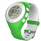 Pingonaut Kidswatch – Kinder GPS Telefon-Uhr, SOS Smartwatch mit Ortung, Tracker & Phone - Tracking App, Deutsche Software, Apfelgrün