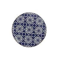 Porland Morocco Düz Tabak Desen7 Mor 28cm, Porselen