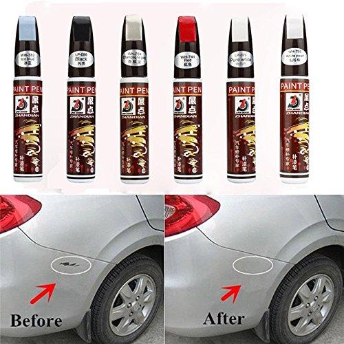 Bolígrafo reparador para pintura de coches Fix it Pro de Daozea, negro perlado, impermeable, elimina arañazos, 12 ml, 1 unidad