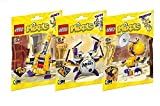 Lego, Mixels Series 7 Bundle MIXIES set, JAMZY (41560), TAPSY (41561), TRUMPSY (41562) Combine to Build MIXIES MAX!